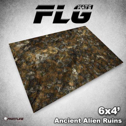 Frontline Gaming Mats: Ancient Alien Ruins 4x6'
