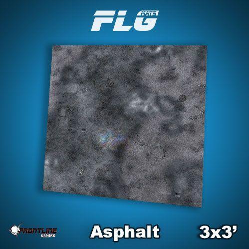 Frontline Gaming Mats: Asphalt 3x3'