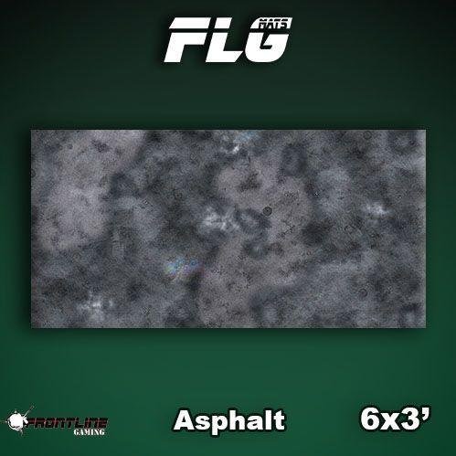 Frontline Gaming Mats: Asphalt 3x6'