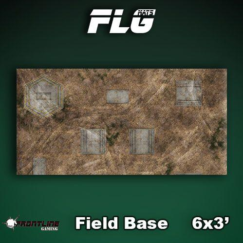 Frontline Gaming Mats: Field Base 3x6'