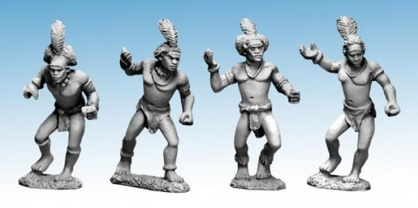 28mm Modern: Darkest Africa - Shilluk Spearmen 2 (4)