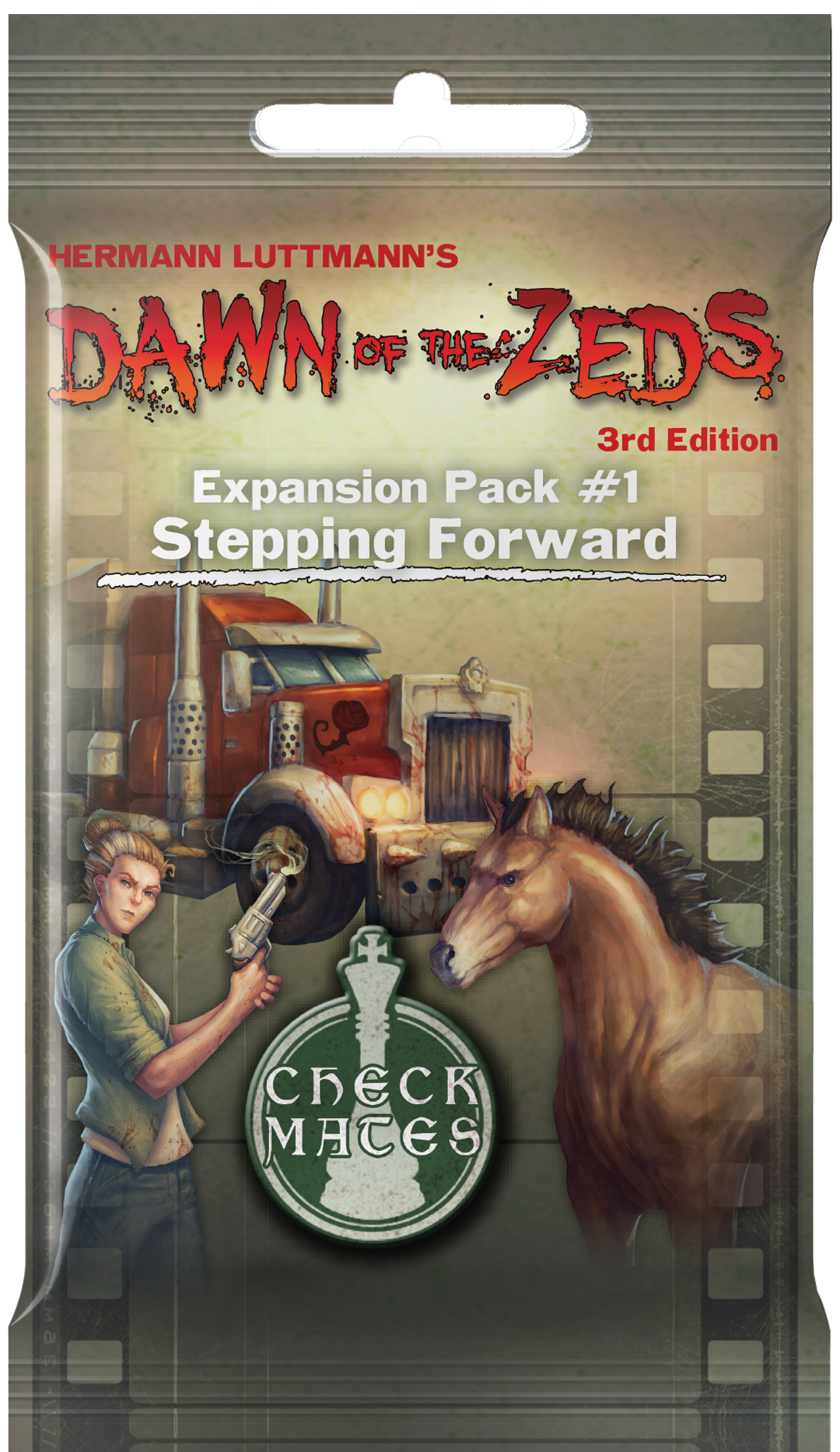 Dawn Of The Zeds: Stepping Forward (Expansion)