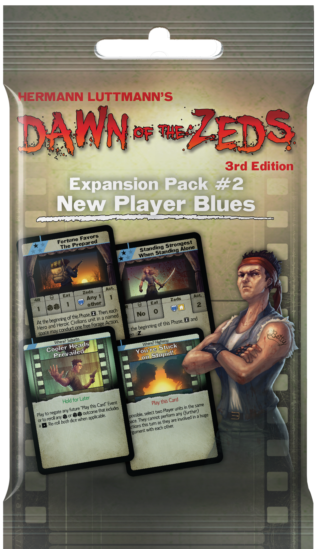 Dawn Of The Zeds: New Player Blues (Expansion)