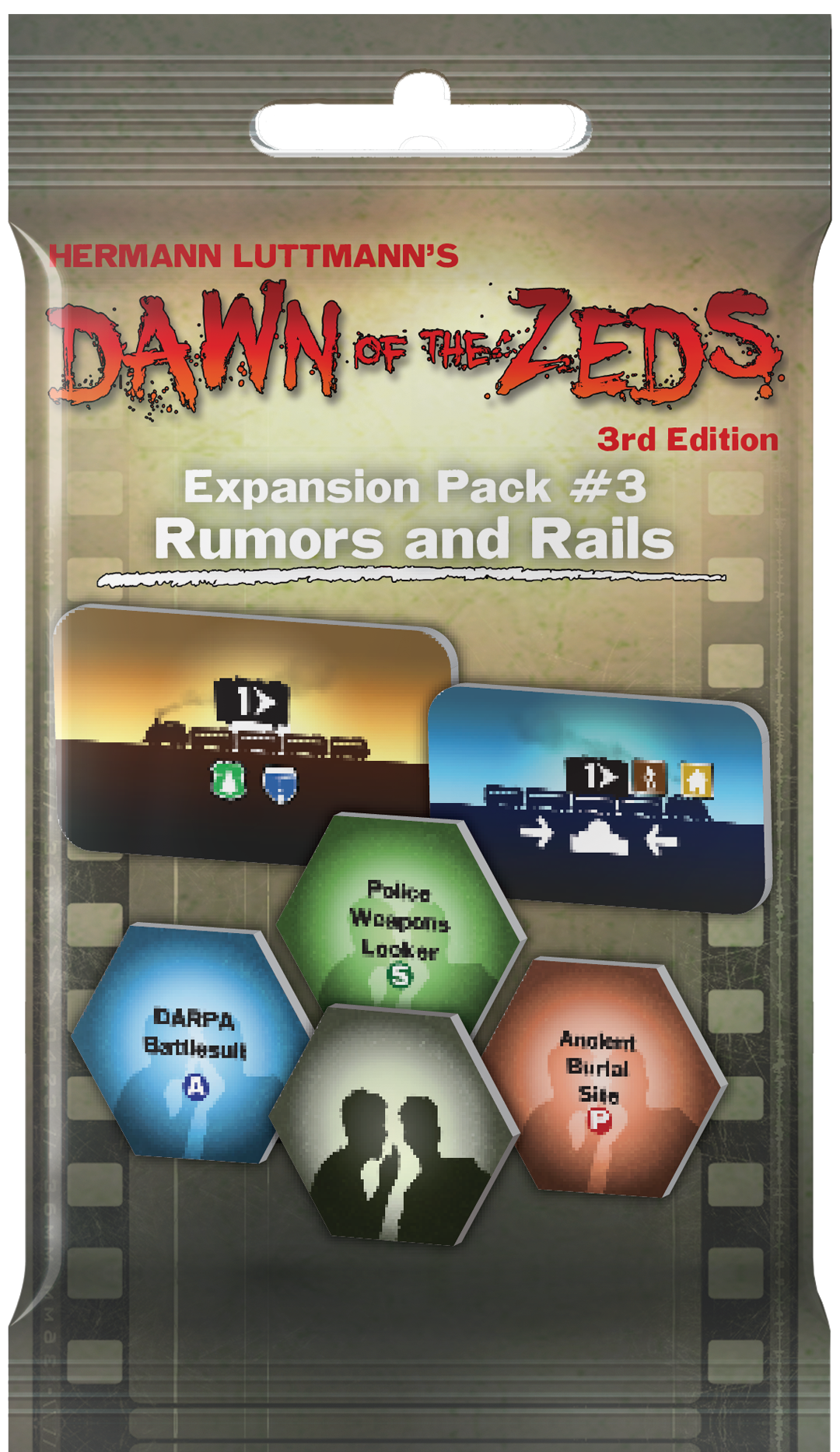 Dawn Of The Zeds: Rumors and Rails (Expansion)