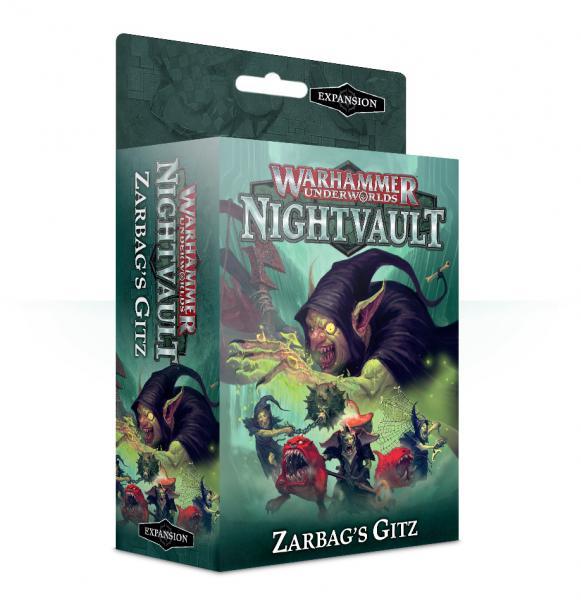 Warhammer Underworlds: Nightvault Zarbag's Gitz