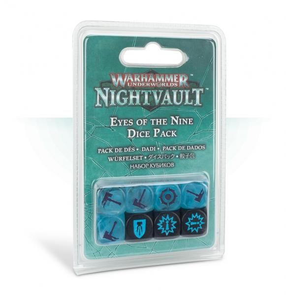 Warhammer Underworlds: Nightvault Eyes of the Nine Dice Set