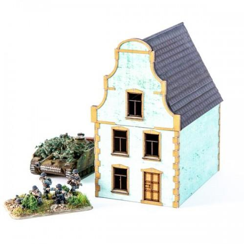 15mm Terrain: 15mm Dutch House 01