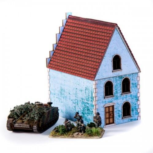 15mm Terrain: 15mm Dutch House 02