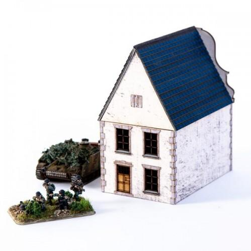 15mm Terrain: 15mm Dutch House 03