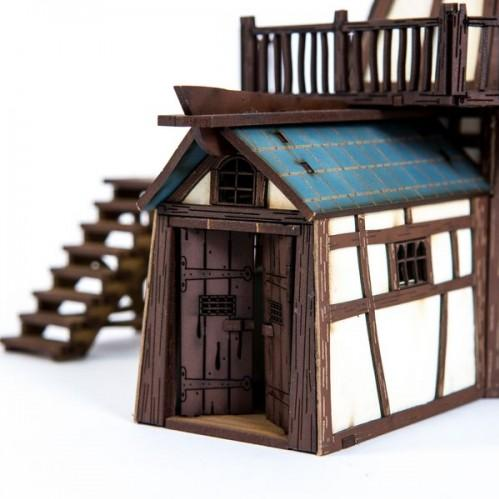 28mm Fabled Realms: Tueden League Windmill