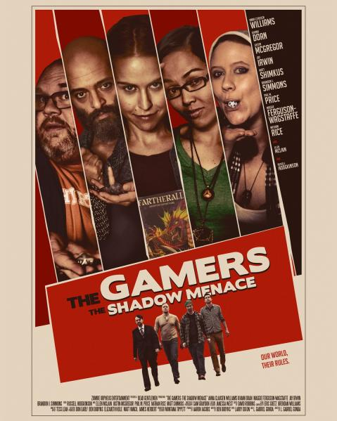 The Gamers: The Shadow Menace (Blu-ray/DVD Combo Pack)