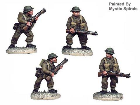 Crusader Miniatures: British Riflemen I (4)