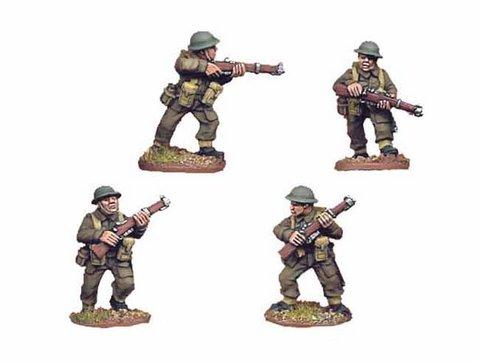 Crusader Miniatures: British Riflemen II (4)
