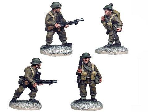 Crusader Miniatures: British Bren Gun Teams (4)