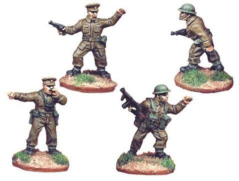 Crusader Miniatures: British Infantry Command (4)