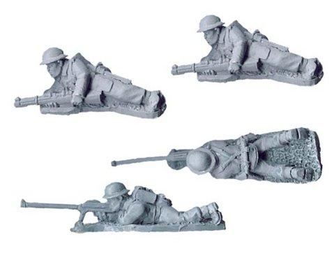 Crusader Miniatures: British BOYS ATR Teams (4)