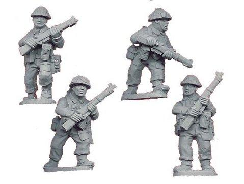 Crusader Miniatures: Late British Riflemen I (4)