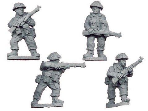 Crusader Miniatures: Late British Riflemen II (4)