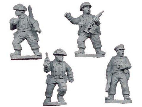 Crusader Miniatures: Late British Infantry Command (4)
