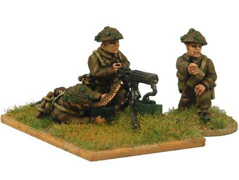 Crusader Miniatures: Late British Vickers MG and crew (1 MG, 3 crew)