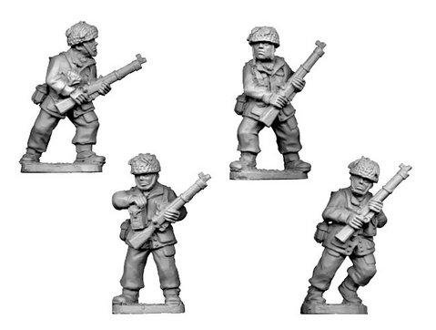 Crusader Miniatures: British Para Rifles I  (4)