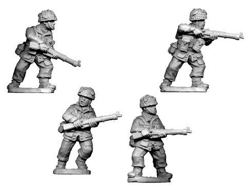 Crusader Miniatures: British Para Rifles II (4)