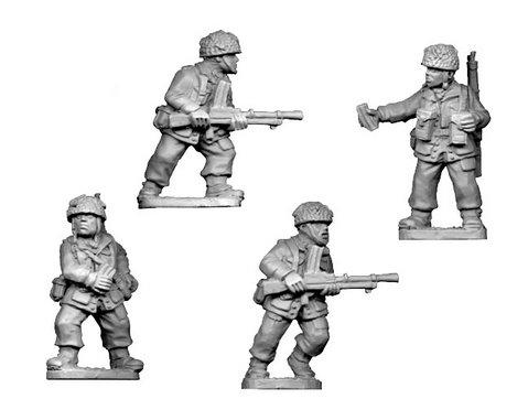 Crusader Miniatures: British Para Bren Teams (4)