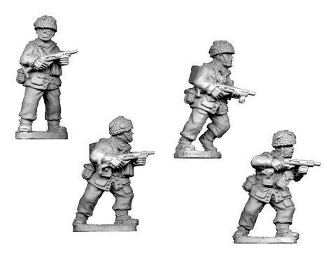 Crusader Miniatures: British Para with Sten Gun (4)