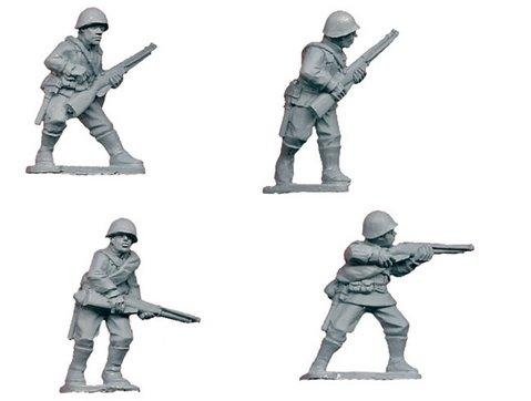 Crusader Miniatures: Russian Infantry I (4)