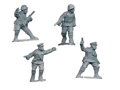 Crusader Miniatures: Russian Infantry Command (4)