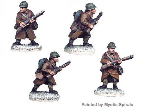 Crusader Miniatures: French Riflemen I (4)