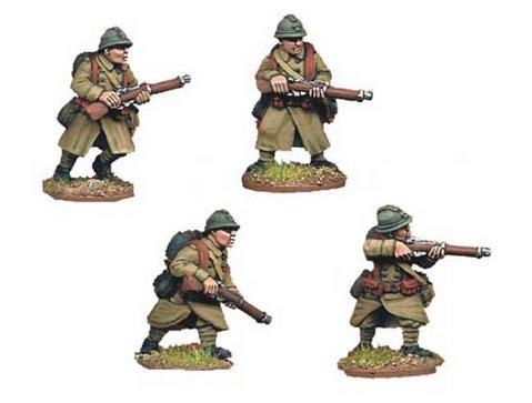 Crusader Miniatures: French Riflemen II (4)