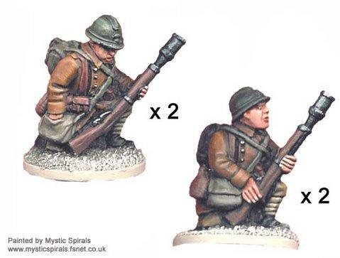 Crusader Miniatures: French Rifle Grenadiers (4)