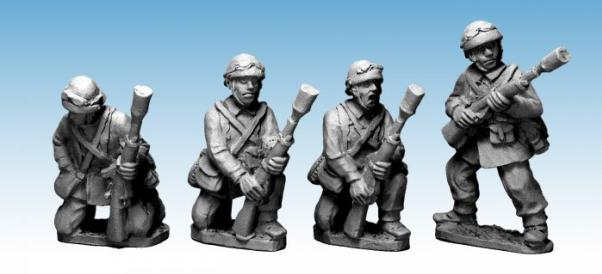 Crusader Miniatures: French M/C Troop Rifle Grenadiers (4)