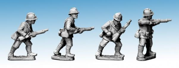 Crusader Miniatures: Dragon Portes Riflemen I (4)