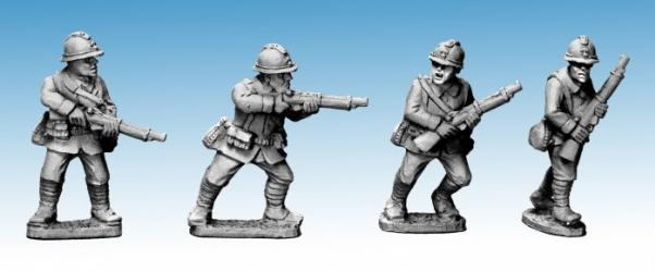 Crusader Miniatures: Dragon Portes Riflemen II (4)