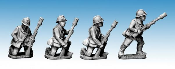 Crusader Miniatures: Dragon Portes VB Rifle Grenadiers (4)