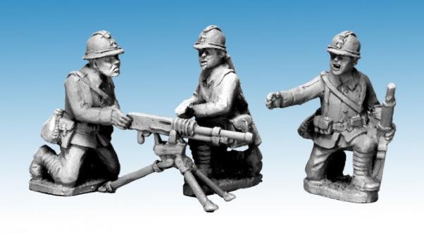 Crusader Miniatures: Dragon Portes HMG & Crew