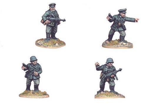 Crusader Miniatures: German Infantry Command (4)