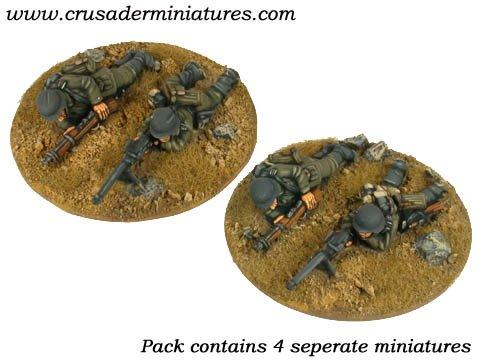 Crusader Miniatures: German PzB39 AT Rifle Teams