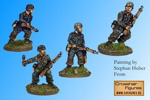 Crusader Miniatures: Fallschirmjager Riflemen I (4)