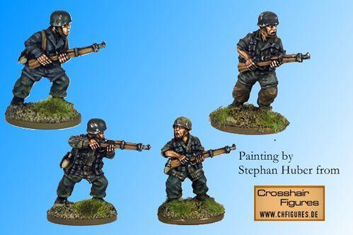 Crusader Miniatures: Fallschirmjager Riflemen II (4)