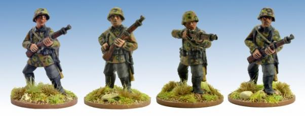 Crusader Miniatures: German Schützen with Rifles 2 (4)