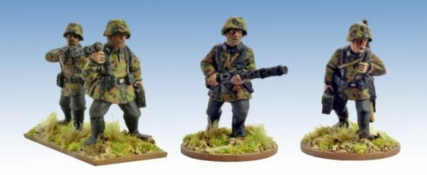 Crusader Miniatures: German Schützen with LMG (4)