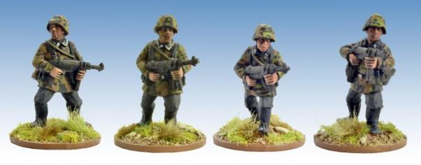 Crusader Miniatures: German Schützen with SMG (4)