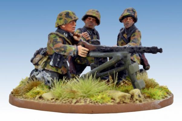 Crusader Miniatures: German Schützen Firing MG34