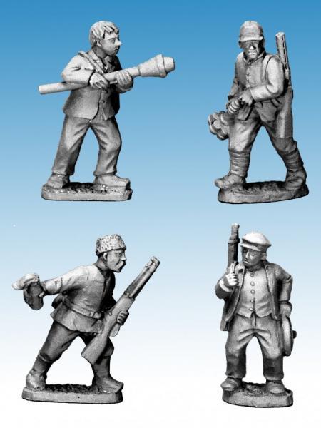 Crusader Miniatures: Partisan Tankhunters (4)