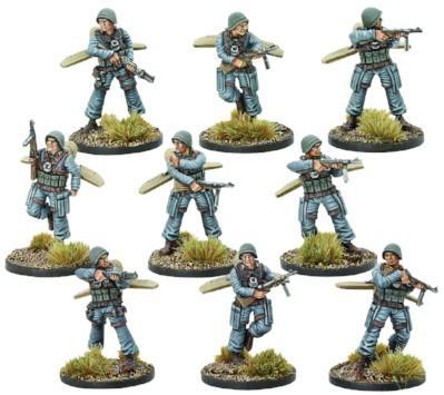 Bolt Action (Konflikt '47) Italian Firefly Paracadutisti Infantry Squad