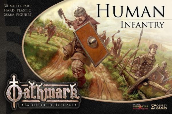 28mm Fantasy: (Oathmark) Human Infantry