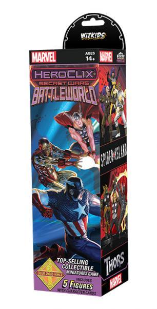 Marvel HeroClix: Secret Wars - Battleworld Booster Pack (1)
